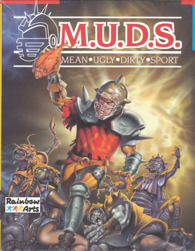 MUDS Retro Game Box Art by Celal Kandemiroglu - 80s and 90s Arcades, Retro Games and Classic Video Games