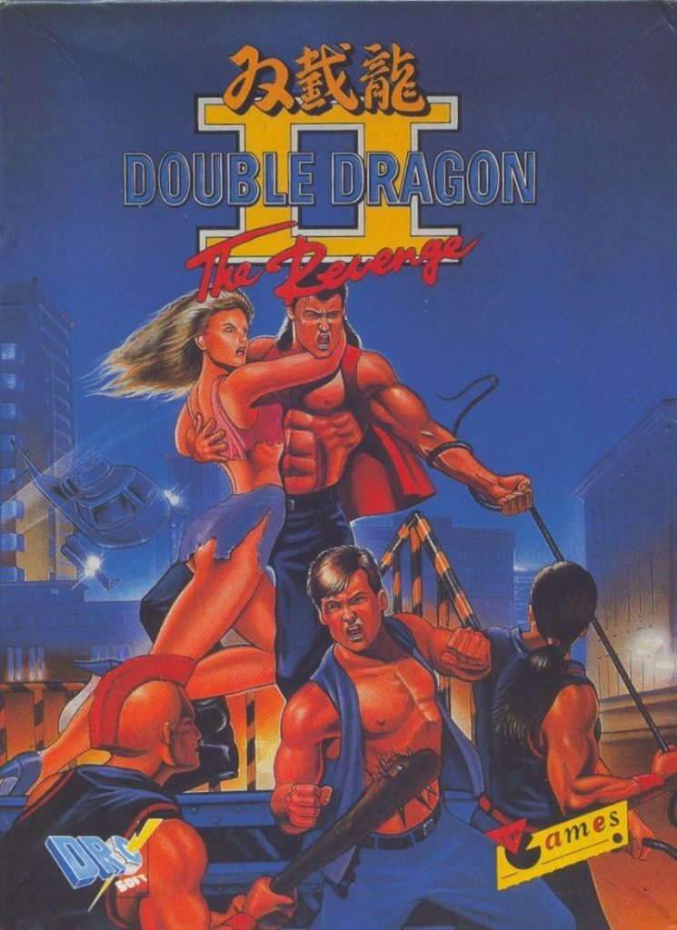 Double Dragon II export box art - - 80s and 90s Arcades, Retro Games and Classic Video Games