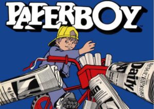 Paperboy la storia su Retro-Game.it - Marquee del gioco retro game arcade