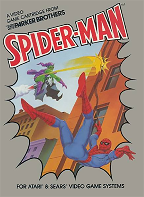 Spider-Man for Atari 2600 - 80s and 90s Arcades, Retro Games and Classic Video Games