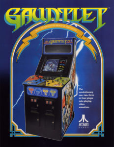 Retro Game Story Il Cabinato di Atari Gauntlet su retro-game.it