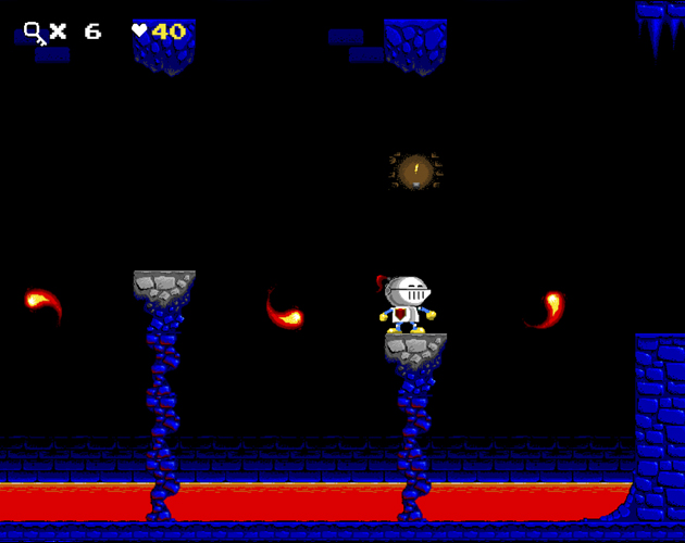 The Good Knight Vs The Evil Wizard è un gioco platform in stile 8bit gioca online. Play online 8bit style arcade game.